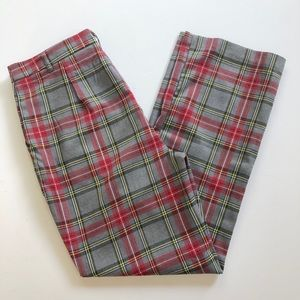 Free Generation tartan plaid pant, Sz. M